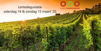 Lente 2020 bij Wijnen Vansteenkiste